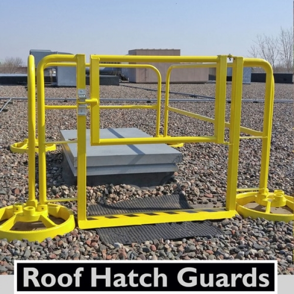 Accu-fit Mobile Guardrail With Traditional Vertical Stanchions